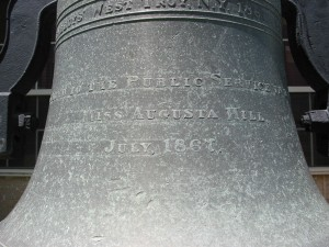The Inscription on Atlanta's Oldest Fire Bell - Raymond Keen 2013