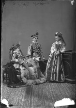 "Lord and Lady Dufferin's three eldest children, Terence, Archie, and Nellie. Archie is dressed as a young ""Lord Darnley"" and Nellie is dressed as a young ""Mary Queen of Scots."" http://collectionscanada.gc.ca/pam_archives/index.php?fuseaction=genitem.displayItem&lang=eng&rec_nbr=3477316"