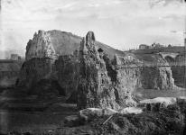 View of the park under construction in 1865.
