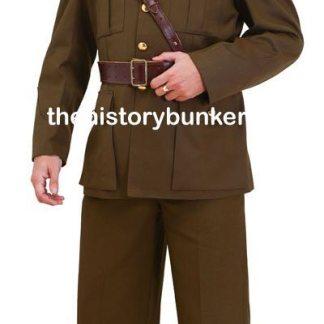 WW2 British army uniforms and tunics