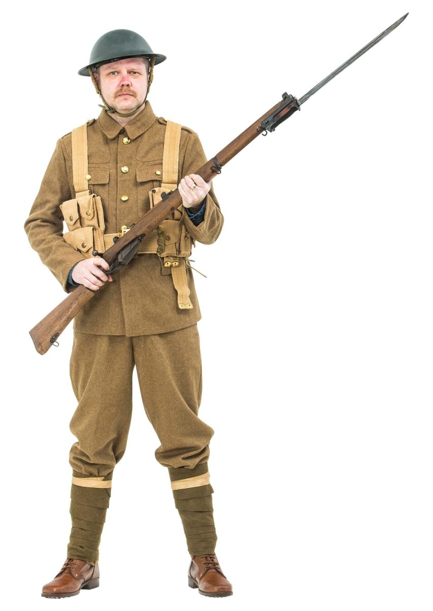 WW1 British army uniform 1916 The Somme | Reproduction WW1 ... - photo#14