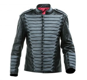 Leather Hussars Jacket