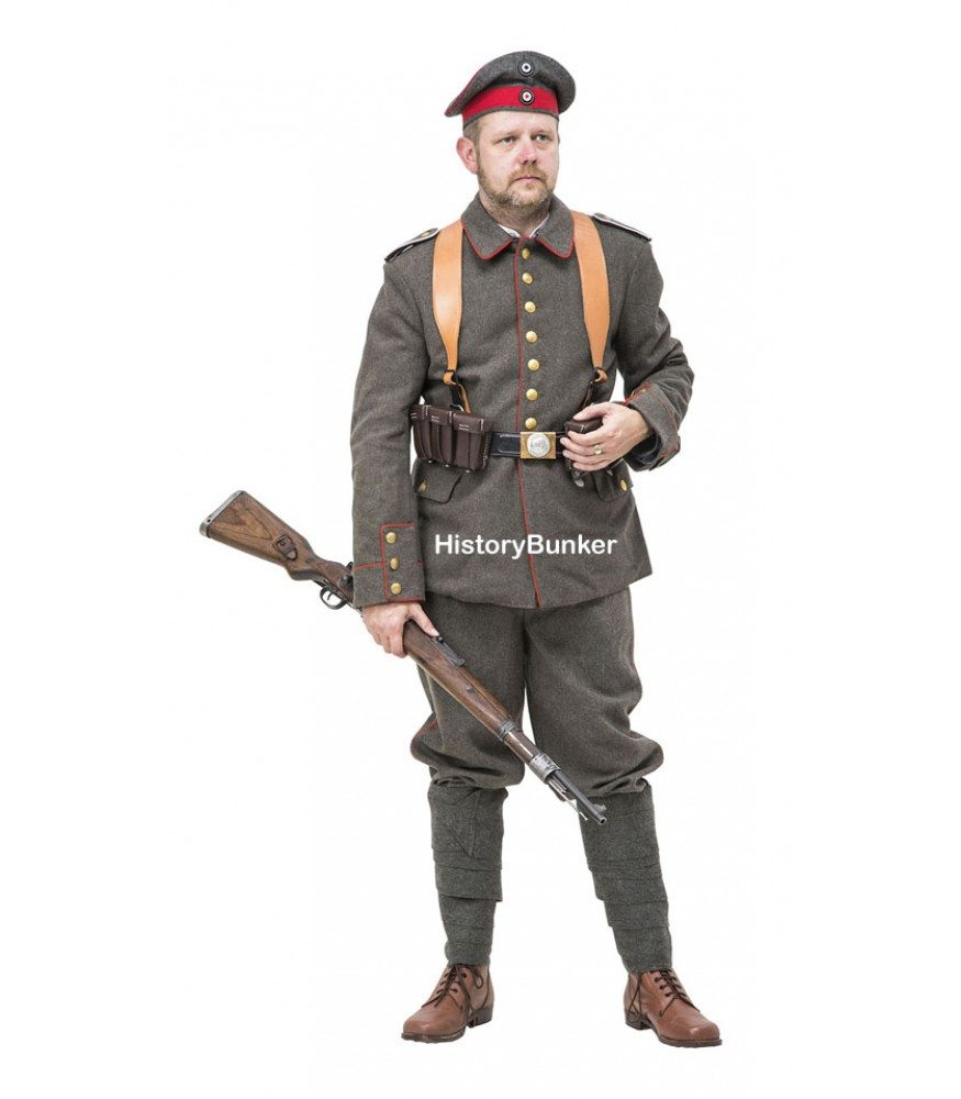 WW1 German army uniform p07/10 package | Reproduction WW1 ...