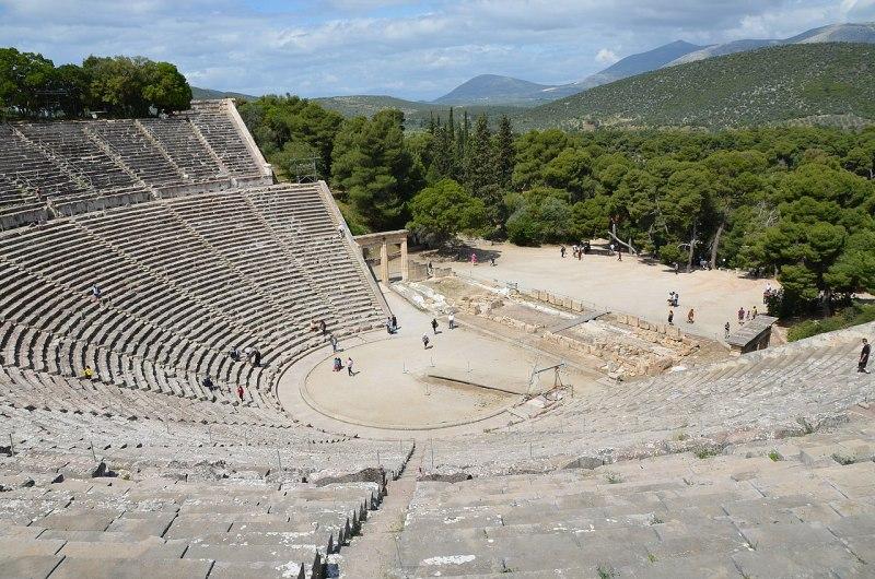 The Ancient Greek theatre of Epidaurus