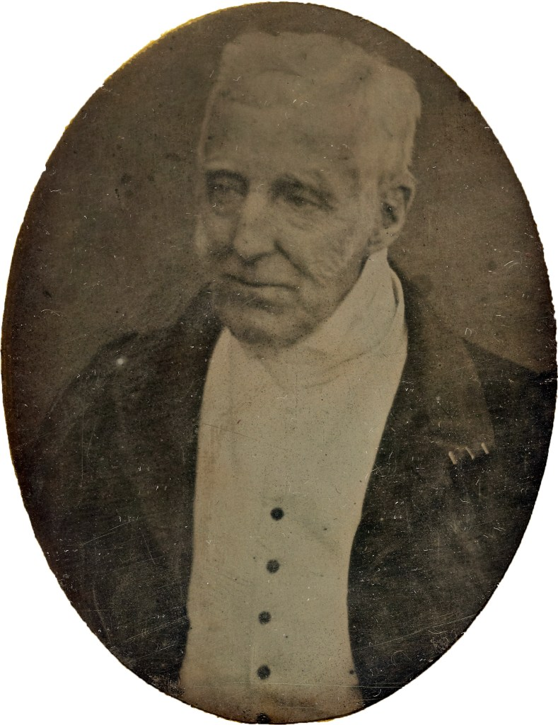 An elderly Duke of Wellington photographed in 1844