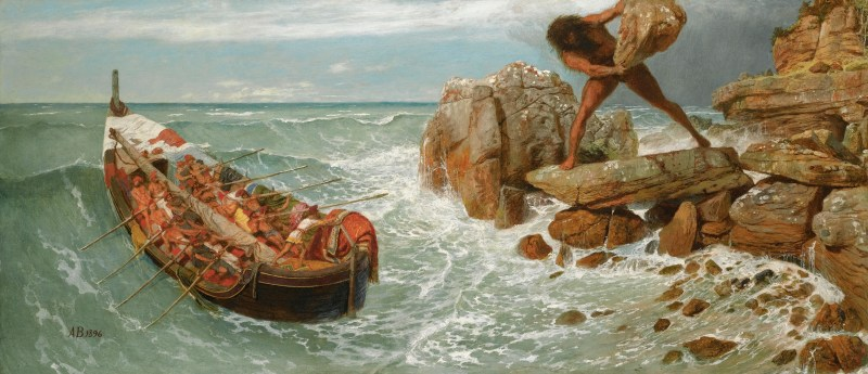 Odysseus and Polyphemus by Arnold Böcklin