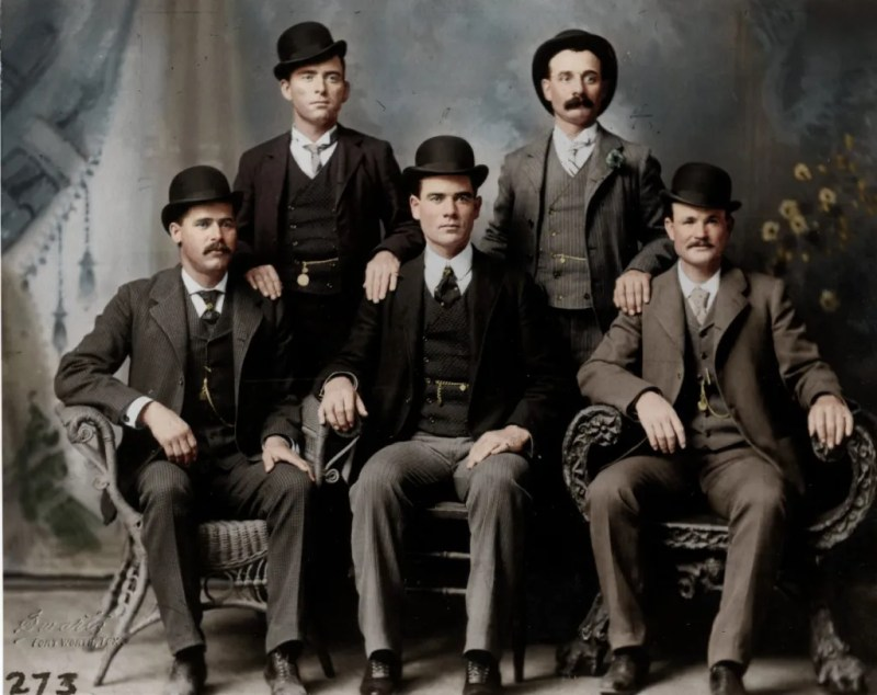 Color photo of Butch Cassidys Wild Bunch