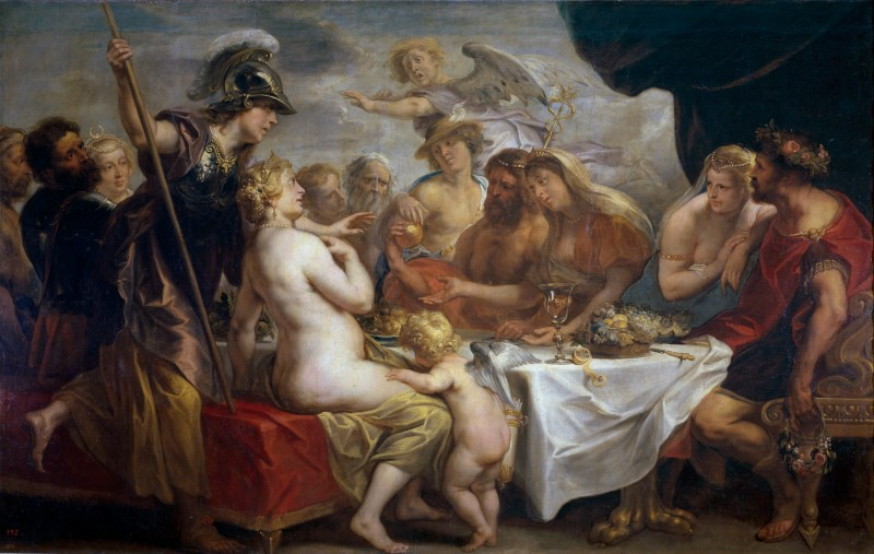 Golden Apple of Discord by Jacob Jordaens