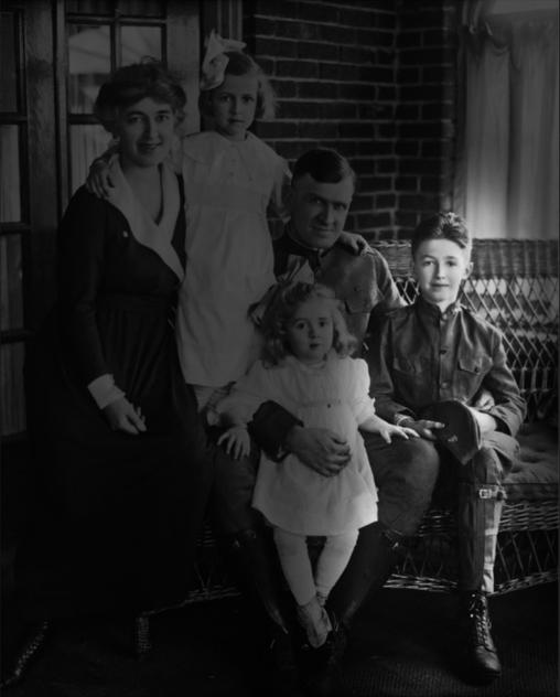 James Stewart as a child in 1918