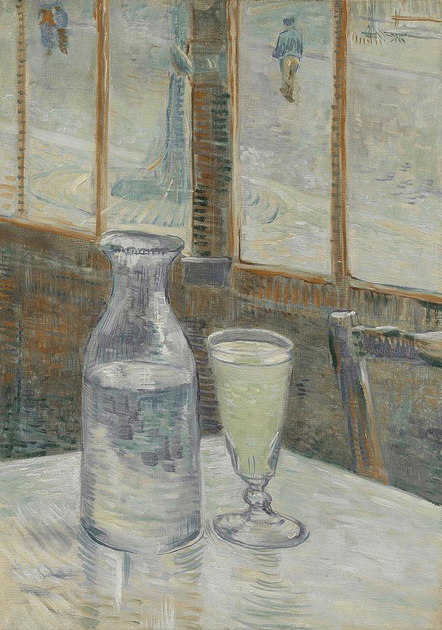 Van Gogh Painting Still Life with Absinthe