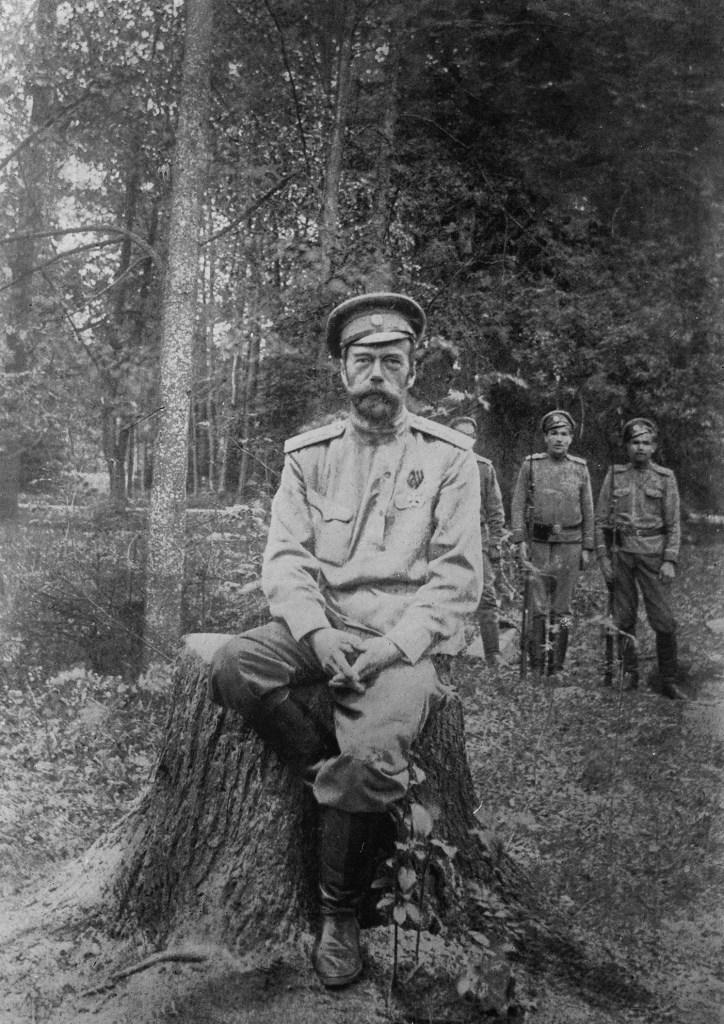 Last photo of Nicholas II