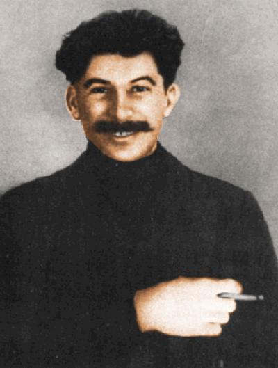 Stalin in 1915