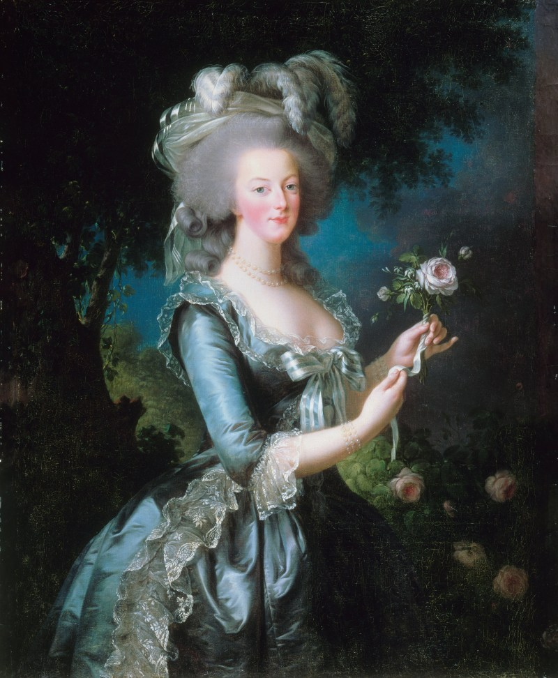 Marie-Antoinette with the Rose