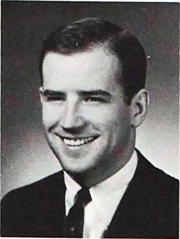 Biden's 1968 Yearbook Photo