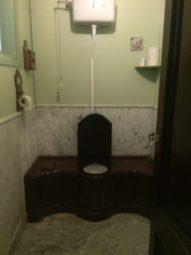 De oudste spoel WC van Nederland