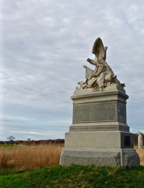 A monument to the 88th Pennsylvania Infantry