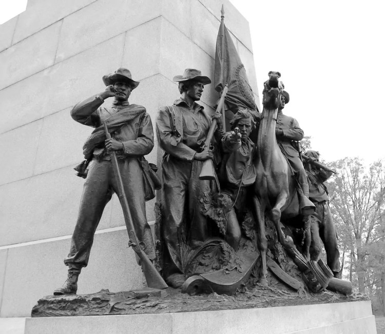 The Virginia Memorial at Gettysburg