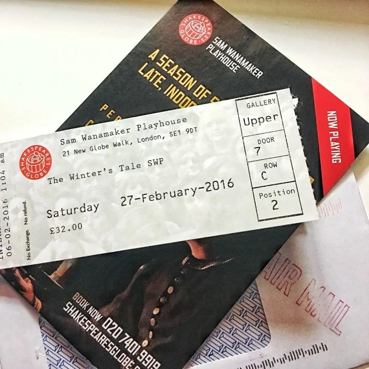 United Kingdom - London - Theater Ticket