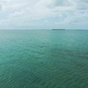 Finding a remote beach on a Caribbean Island