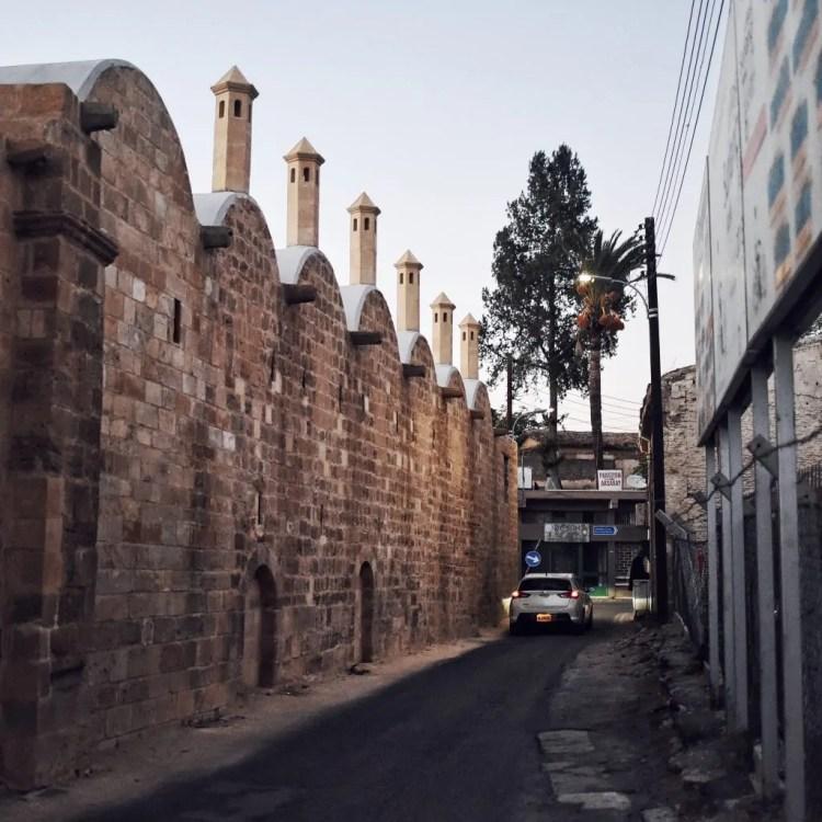 The exterior of the Büyük Han