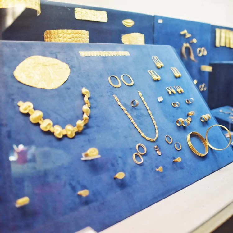 The collection at the Cyprus Museum