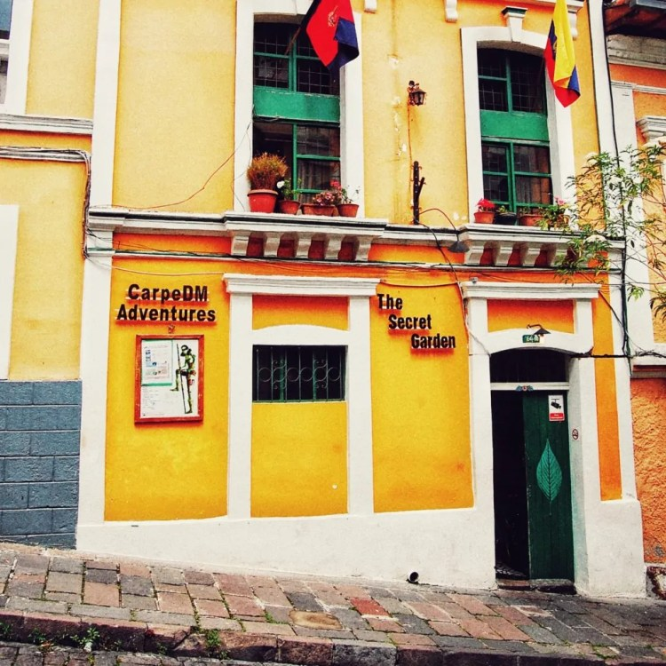 A friendly backpacker hostel with $2 dinners.