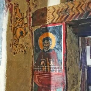 Frescos in St. John Lambadhistis Monastery