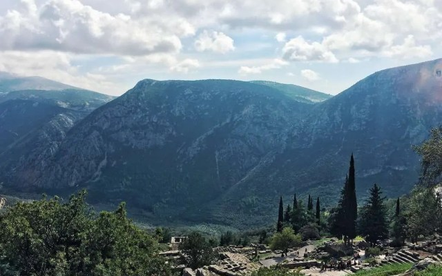 UNESCO World Heritage Site #31: Archaeological Site of Delphi (Greece)
