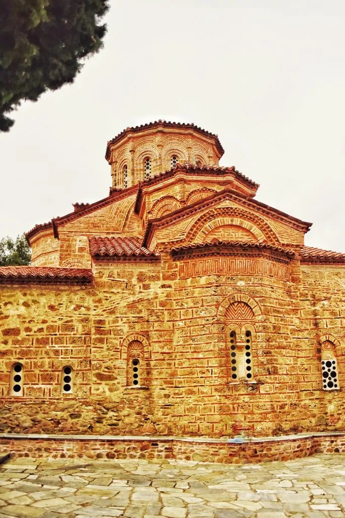 The church at the Great Meteoron Monastery