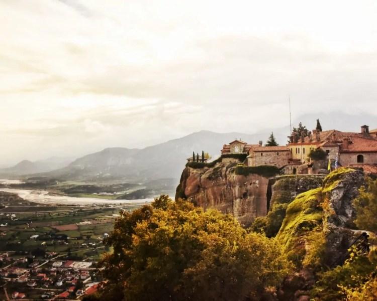 St. Stephens Monastery in Meteora