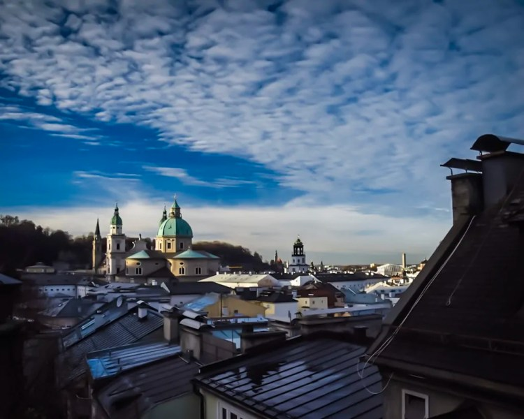 The Rooftops of Salzburg