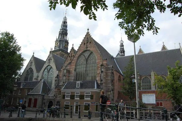 The Old Church near the Red Light District