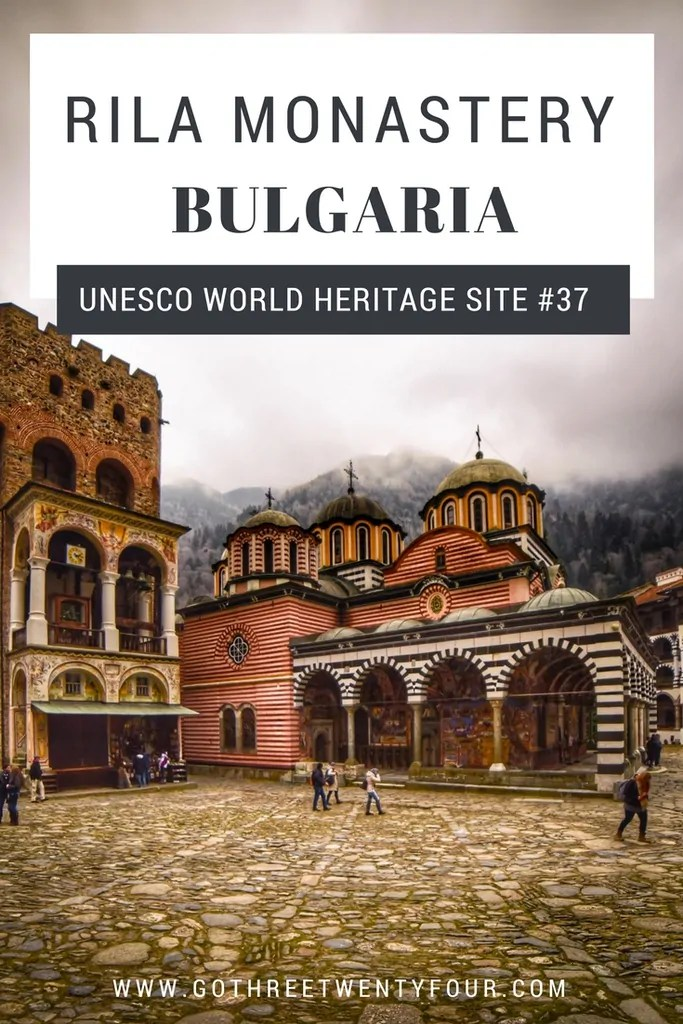 UNESCO World Heritage Site #37: Rila Monastery (Bulgaria)