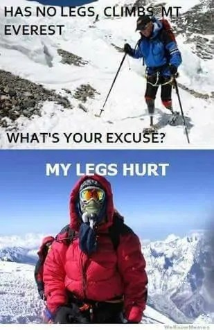 mountain climbing meme