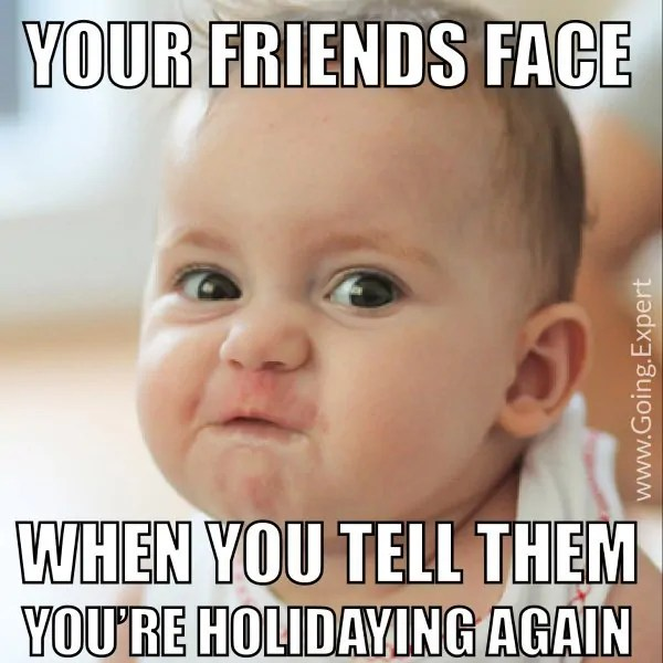 Travel Jealousy Meme