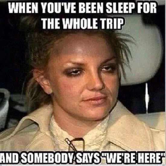 Road Trip Travel Meme