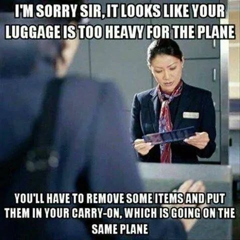 Airport Travel Meme