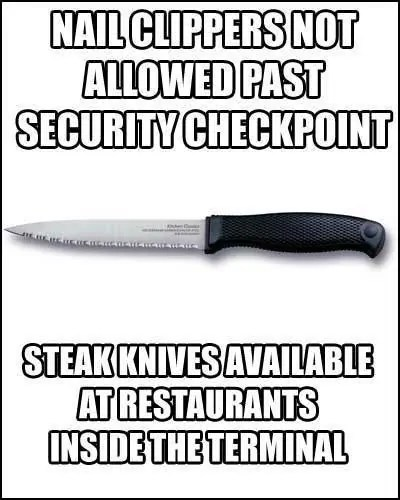 Airport Security Travel Meme
