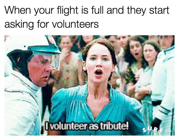 flight booked meme
