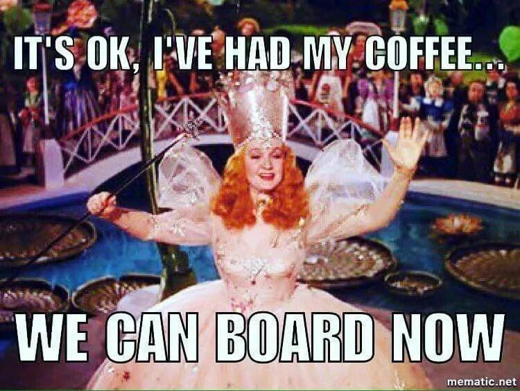 flight attendant meme