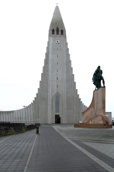 A statue of Leif Erikson in Reykjavik