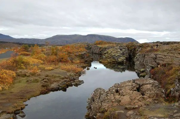 Iceland's Thingvellir National Park where the Vikings held their parliament