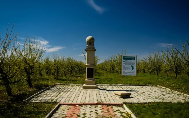 Hunting the Struve Geodetic Arc in Rudi, Moldova (UNESCO World Heritage Sites)