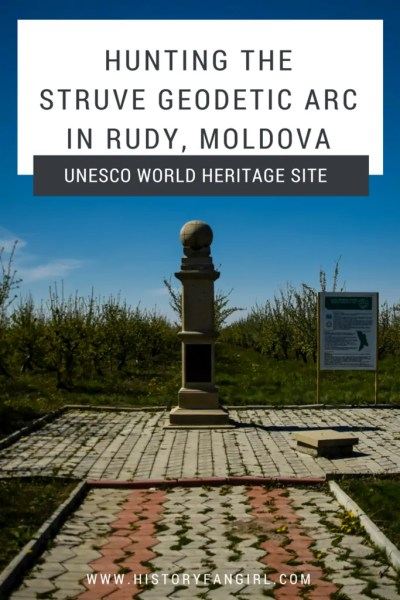 Hunting the Struve Geodetic Arc in Rudy, Moldova