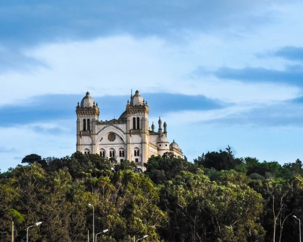 Saint Louis Cathedral in Carthage