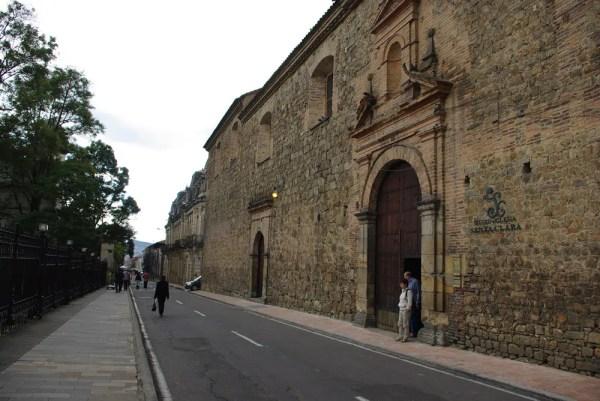 Baroque Iglesia de Santa Clara
