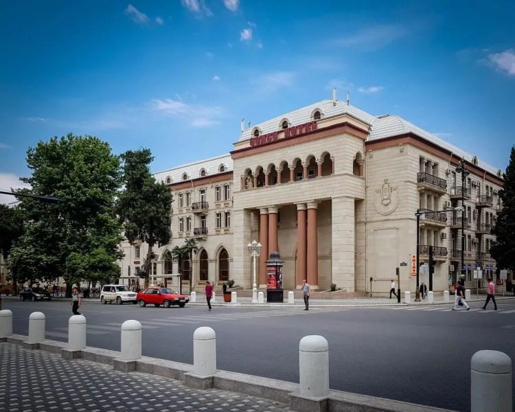 Azerbaijan - Ganja - The Ganja Hotel