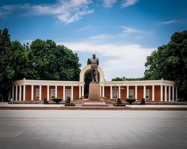 Azerbaijan - Ganja - Heydar Aliyev Square