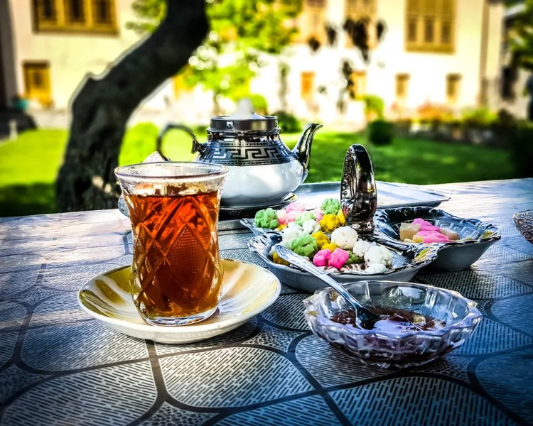Azerbaijan - Sheki - Tea