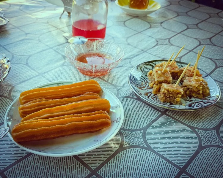 Azerbaijan - Sheki - Dessert